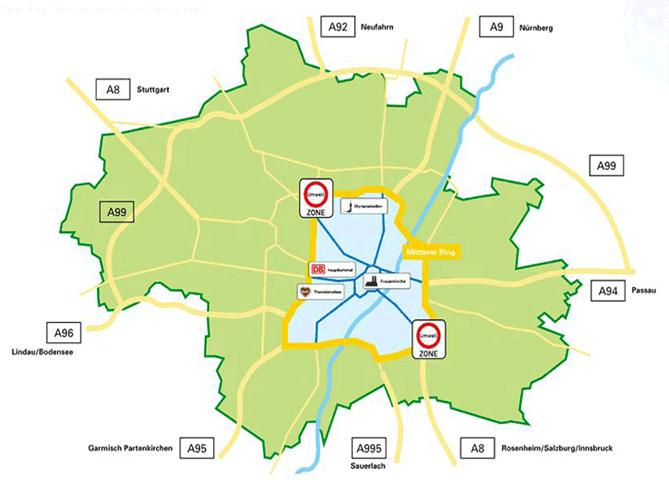 Umweltzone Leipzig Karte.Deutschland Umweltzonen Niedrig Emissionszonen