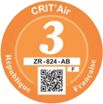 CritAir sticker France